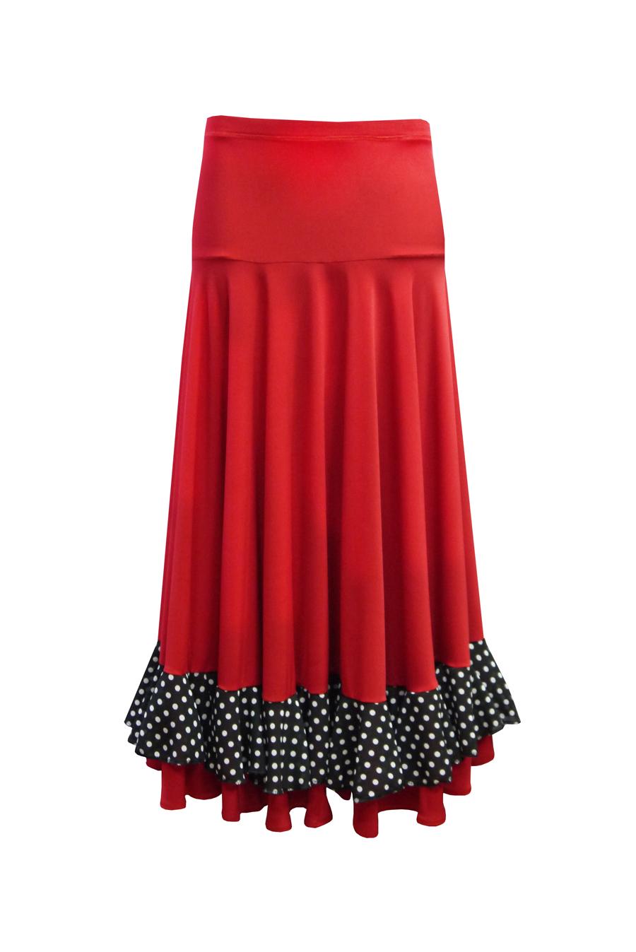 Как сшить испанскую юбку для девочки 49